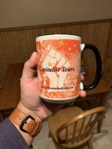 Mugs Available On Our Merchandise Page!