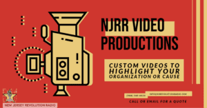 NJRR Video Productions Custom Videos to highlight your organization or cause.